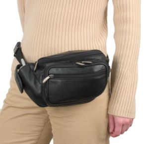 Travelon Leather Waist Pack