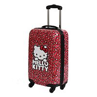 FAB New York Hello Kitty Hearts 22-Inch Hardside Spinner Carry-On