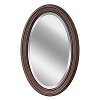 Head West Oval Wall Mirror