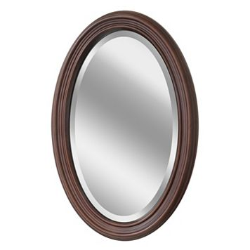 Head West Oval Wall Mirror
