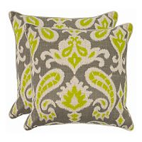 Dylan 2-piece 18'' x 18'' Throw Pillow Set