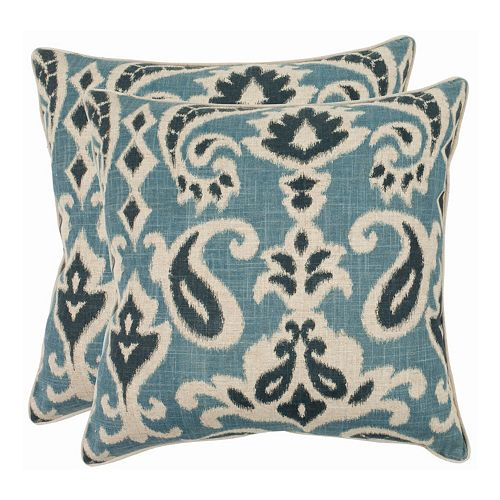 Dylan 2-piece 22'' x 22'' Throw Pillow Set