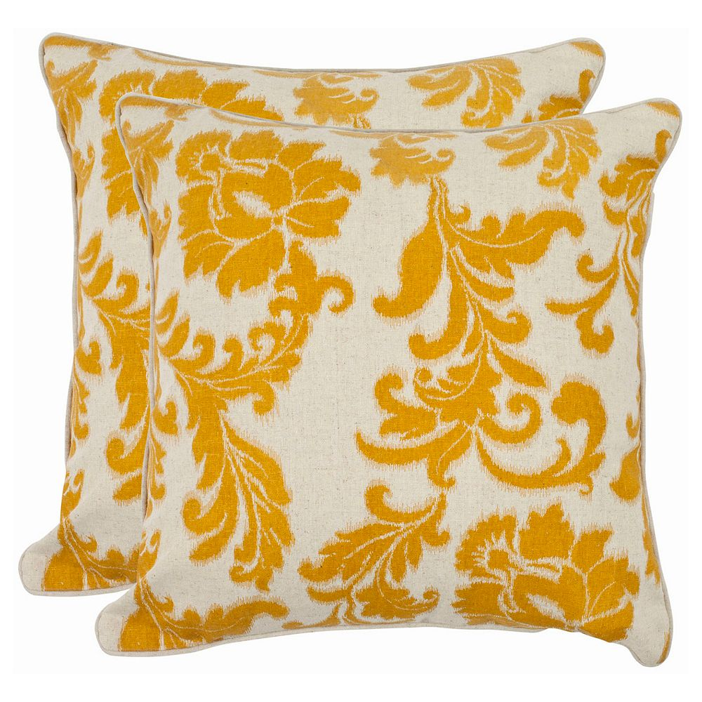 Aubrey 2-piece 22'' x 22'' Throw Pillow Set