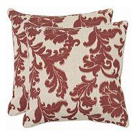 Aubrey 2 pc 22'' x 22'' Throw Pillow Set