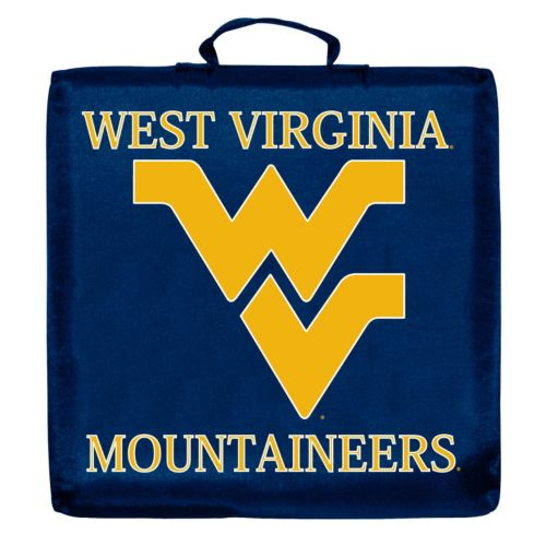 Logo Brand West Virginia Mountaineers Stadium Cushion