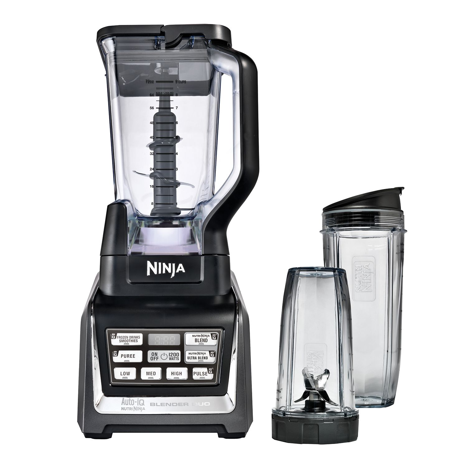 nutri ninja blender duo with autoiq multicolor shopfest money saver