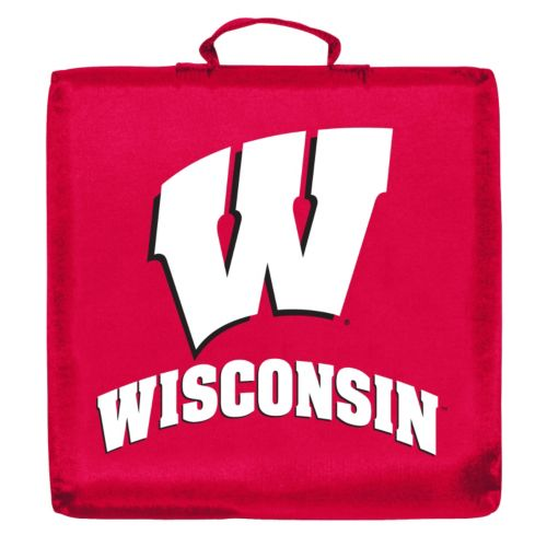 Logo Brand Wisconsin Badgers Stadium Cushion