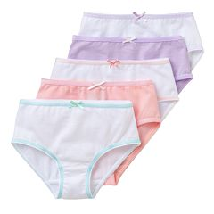 Girls Trimfit 5-pk. Briefs