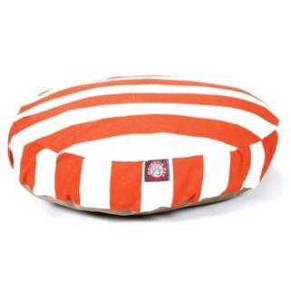 Majestic Pet Striped Round Pet Bed - 30'' x 30''