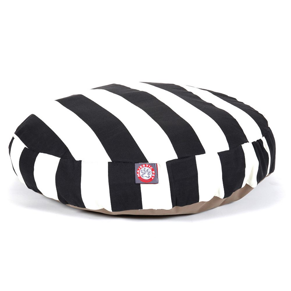 "Majestic Pet Striped Round Pet Bed - 30"" x 30''"