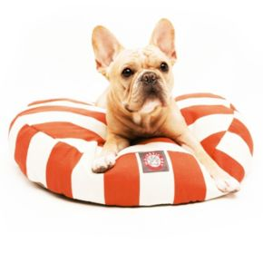 Majestic Pet Striped Round Pet Bed - 30'' x 30''