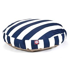 Majestic Pet Striped Round Pet Bed - 36'' x 36''