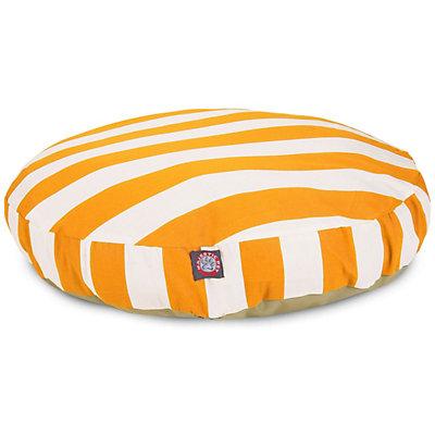 Majestic Pet Striped Round Pet Bed - 36'' x 36''