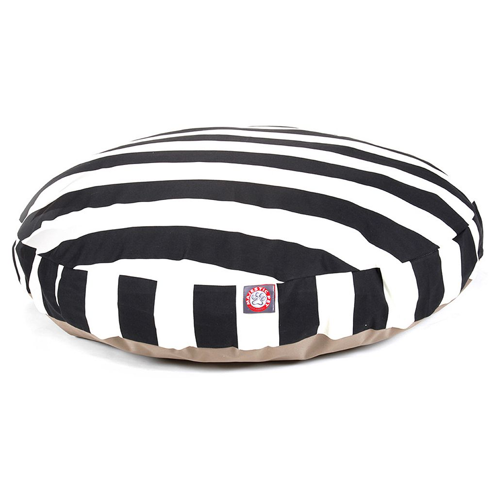 Majestic Pet Striped Round Pet Bed - 42'' x 42''