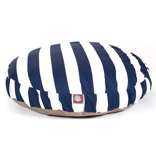 Majestic Pet Striped Round Pet Bed - 42'' x 42''