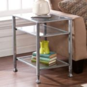 Southern Enterprises Three-Tiered End Table