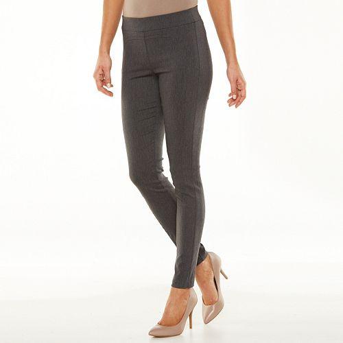 ELLE™ Solid Skinny Leggings - Women's