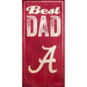Alabama Crimson Tide Best Dad Sign