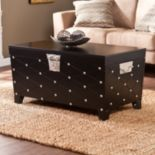 Southern Enterprises Abney Coffee Table Trunk