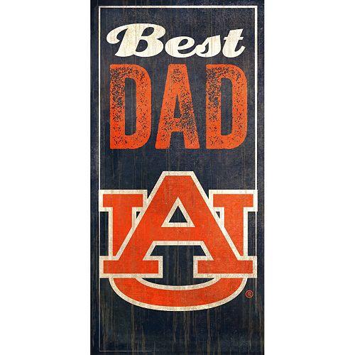 Auburn Tigers Best Dad Sign