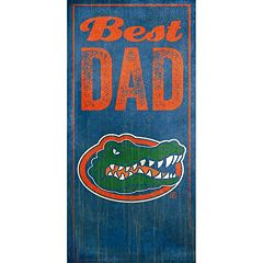 Florida Gators Best Dad Sign