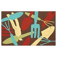 Trans Ocean Imports Liora Manne Visions II Garden Tools Doormat - 20'' x 29 1/2''