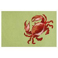 Trans Ocean Imports Liora Manne Visions II Crab Doormat - 20'' x 29 1/2''