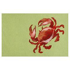 Liora Manne Visions II Crab Doormat - 20'' x 29 1/2''