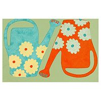 Trans Ocean Imports Liora Manne Visions III Watering Cans Doormat - 20'' x 29 1/2''