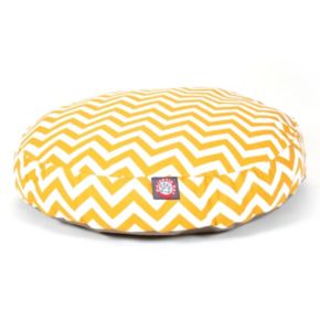 Majestic Pet Chevron Round Pet Bed - 30'' x 30''