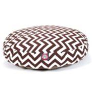 Majestic Pet Chevron Round Pet Bed - 30'' x 30''