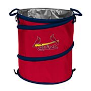 Logo Brand St. Louis Cardinals Collapsible 3-in-1 Trashcan Cooler
