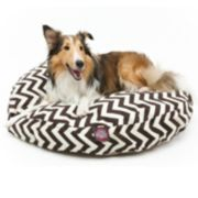 Majestic Pet Chevron Round Pet Bed - 36'' x 36''
