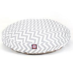 Majestic Pet Chevron Round Pet Bed - 36'' x 36''