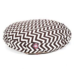 Majestic Pet Chevron Round Pet Bed - 42'' x 42''