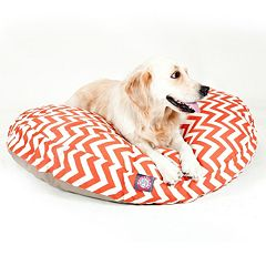 Majestic Pet Chevron Round Pet Bed - 42'' x 42''