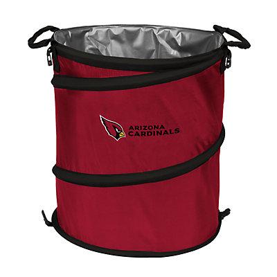 Logo Brand Arizona Cardinals Collapsible 3-in-1 Trashcan Cooler