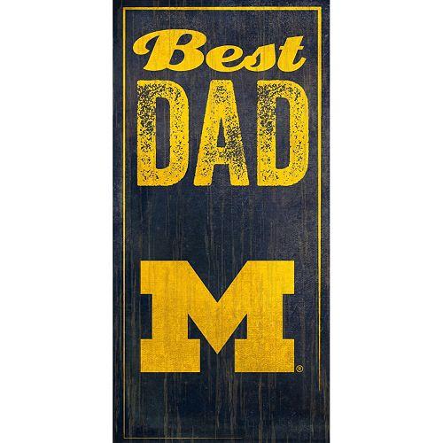 Michigan Wolverines Best Dad S...