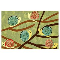Trans Ocean Imports Liora Manne Visions III Snails Grass Doormat - 20'' x 29 1/2''