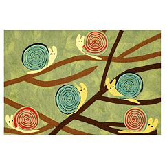 Liora Manne Visions III Snails Grass Doormat - 20'' x 29 1/2''