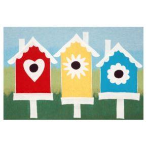 Liora Manne Visions III Birdhouses Doormat - 20'' x 29 1/2''