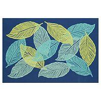 Trans Ocean Imports Liora Manne Visions III Mystic Leaf Doormat - 20'' x 29 1/2''