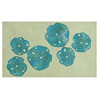 Trans Ocean Imports Liora Manne Visions III Sand Dollar Doormat - 20'' x 29 1/2''