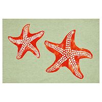 Trans Ocean Imports Liora Manne Visions III Starfish Doormat - 20'' x 29 1/2''