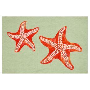 Liora Manne Visions III Starfish Doormat - 20'' x 29 1/2''