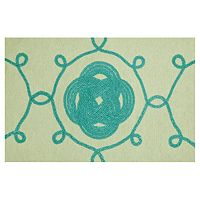 Trans Ocean Imports Liora Manne Visions III Ornamental Knot Doormat - 20'' x 29 1/2''