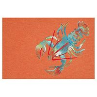 Trans Ocean Imports Liora Manne Visions III Lobster Doormat - 20'' x 29 1/2''