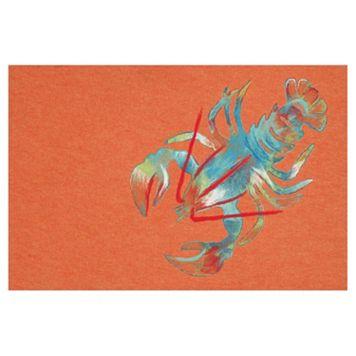 Liora Manne Visions III Lobster Doormat - 20'' x 29 1/2''