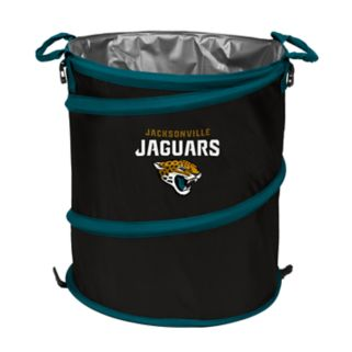 Logo Brand Jacksonville Jaguars Collapsible 3-in-1 Trashcan Cooler