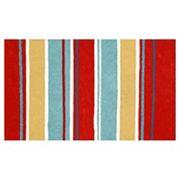 Liora Manne Visions III Sailor Stripe Doormat - 20'' x 29 1/2''